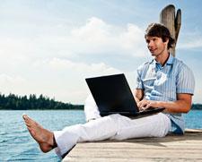 online-banking per laptop