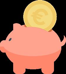 Sparen mit einem Tagesgeldkonto anstatt eines Sparschweins