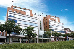 Bürogebäude der Fibank